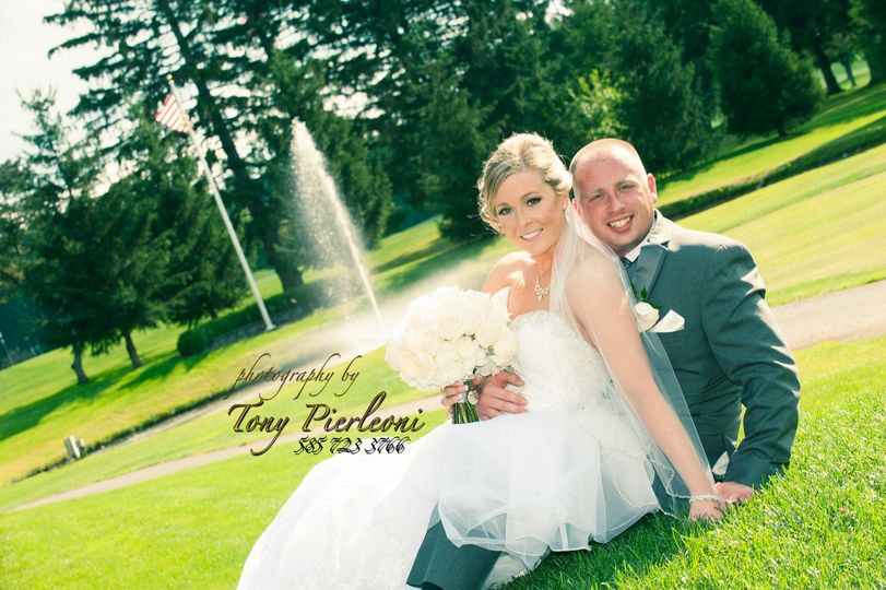 Couple with Pond
