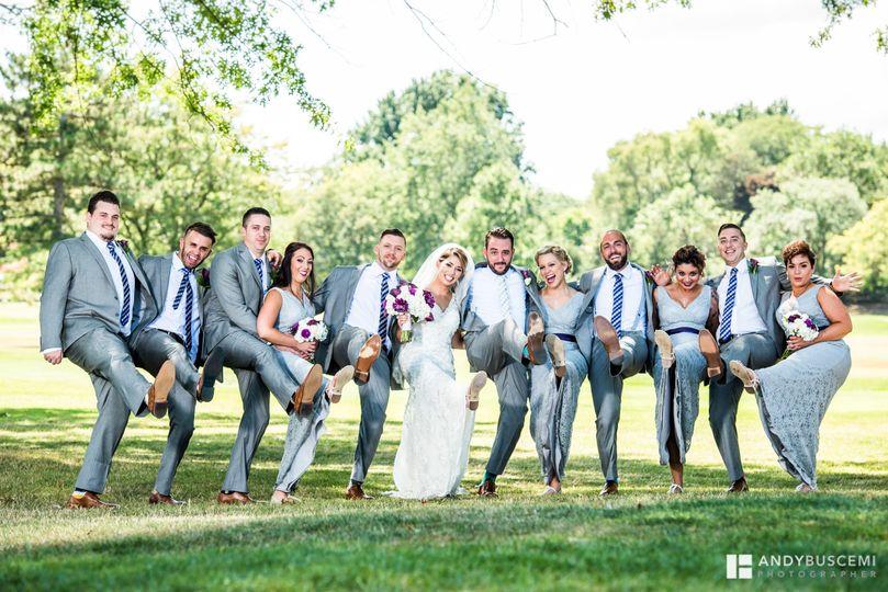 Couple's bridal party 2