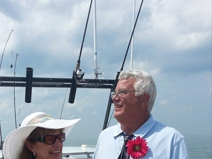 Tmx 1445206972798 Fishingwedding Lakeside Marblehead, Ohio wedding officiant