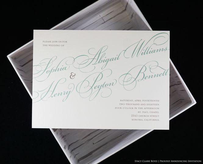Script invitation