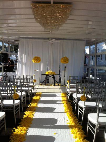 Wedding ailse