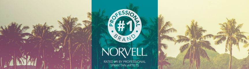 Norvell Is The #1 Trusted Brand! No Orange! Just Off The Beach Bronzed!