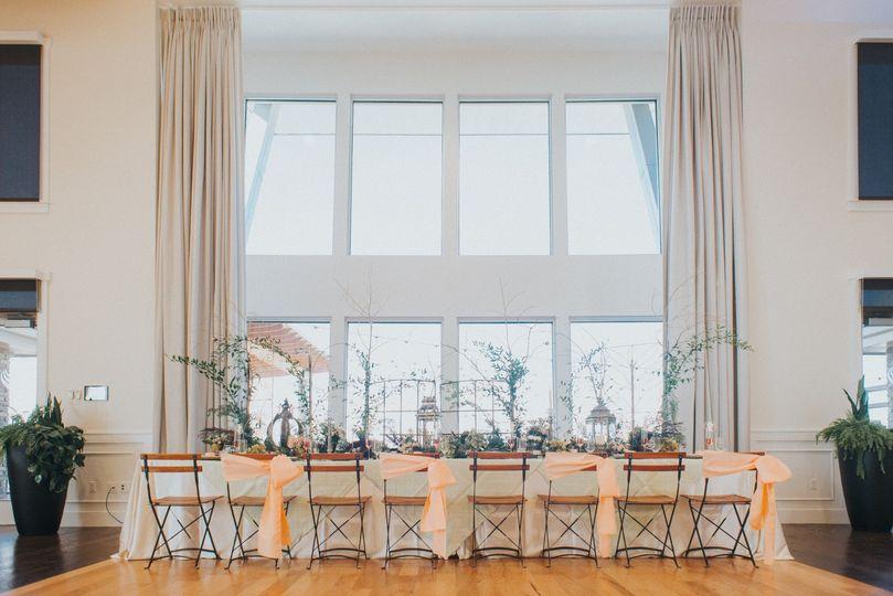 Beautiful head table