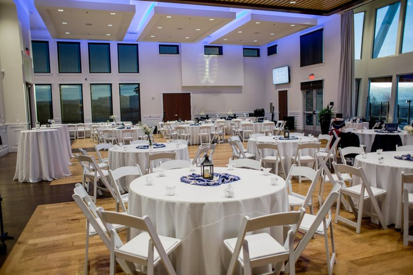 Ballroom setting