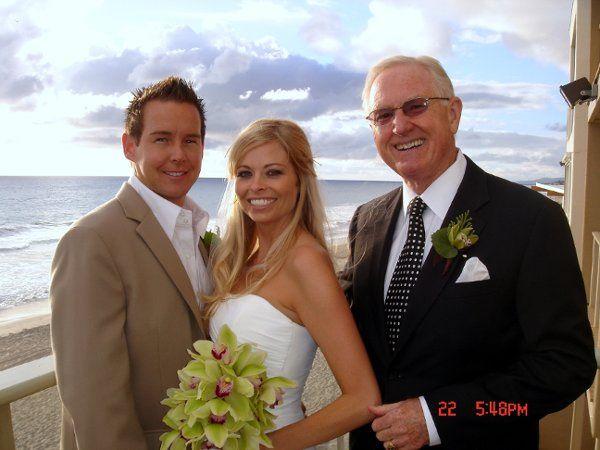 San Diego Wedding Officiant, James W. Rury
