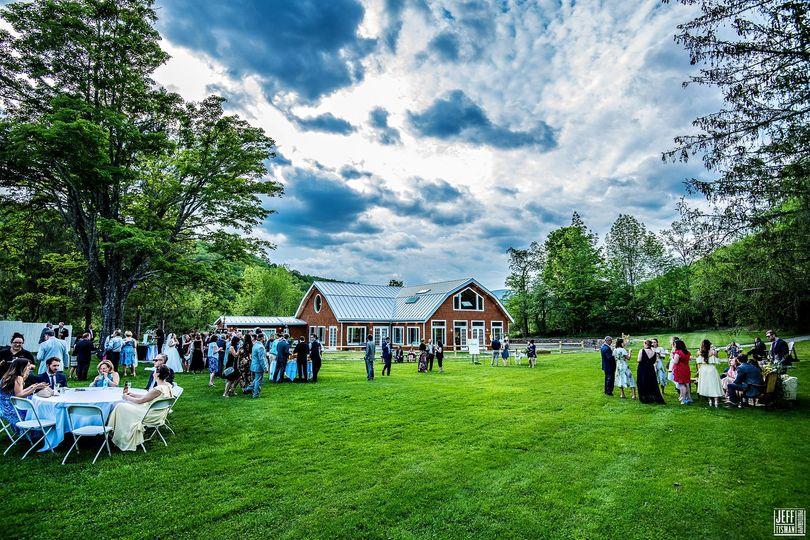 New wedding pavilion