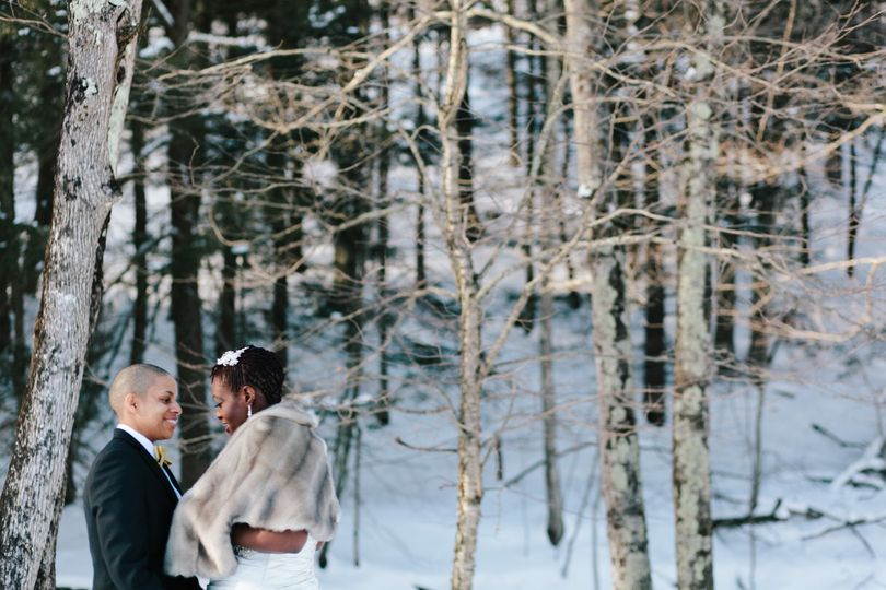 Lovely winter wedding!