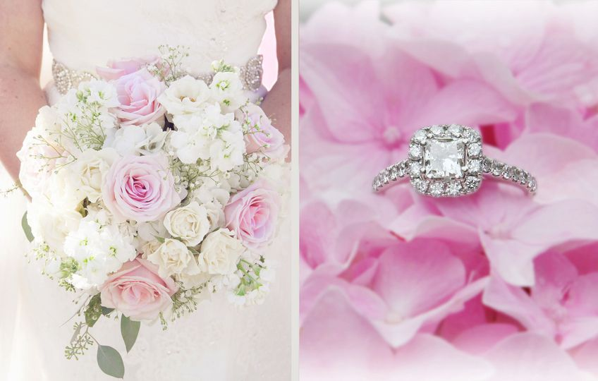 Gorgeous Bridal flowers & Ring