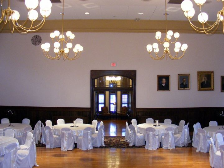 Ballroom to Grand Foyer, wedding reception