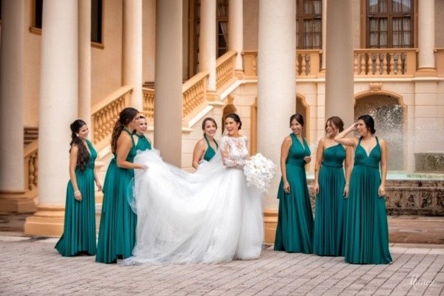 Bouquet with Bridesmaides