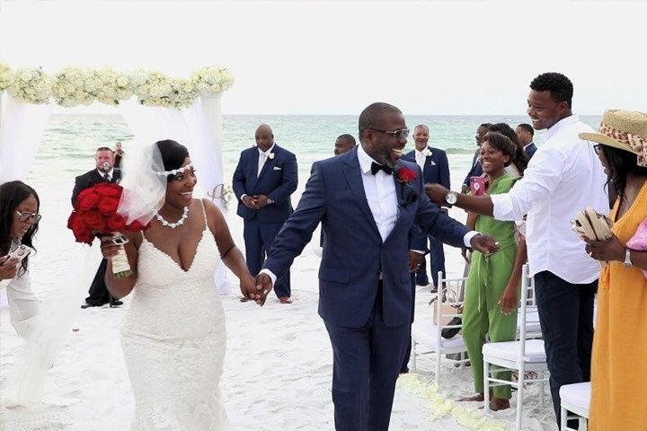 Miramar Beach Wedding
