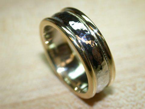 Tmx 1227470408204 2 ToneGoldhammeredcenter Tustin wedding jewelry