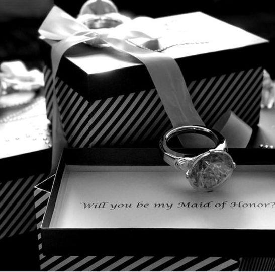 Custom made proposal box