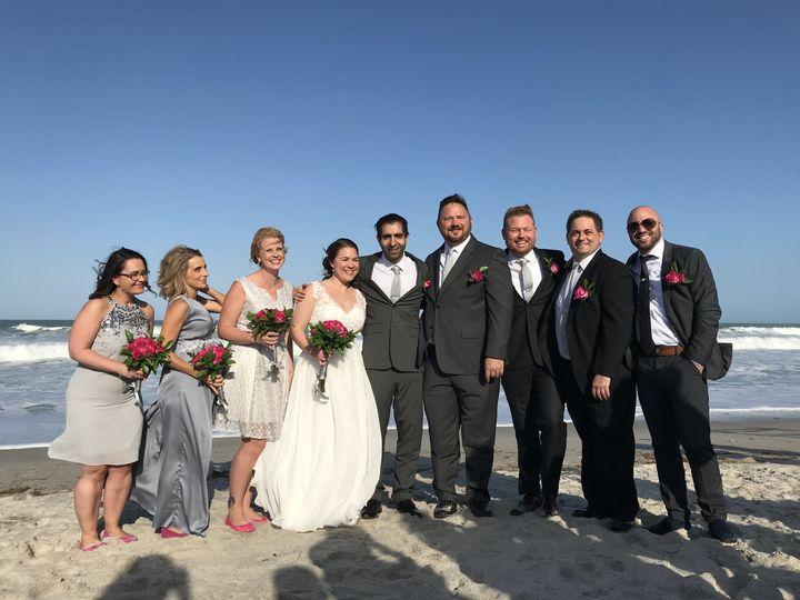 Beach wedding in ocala