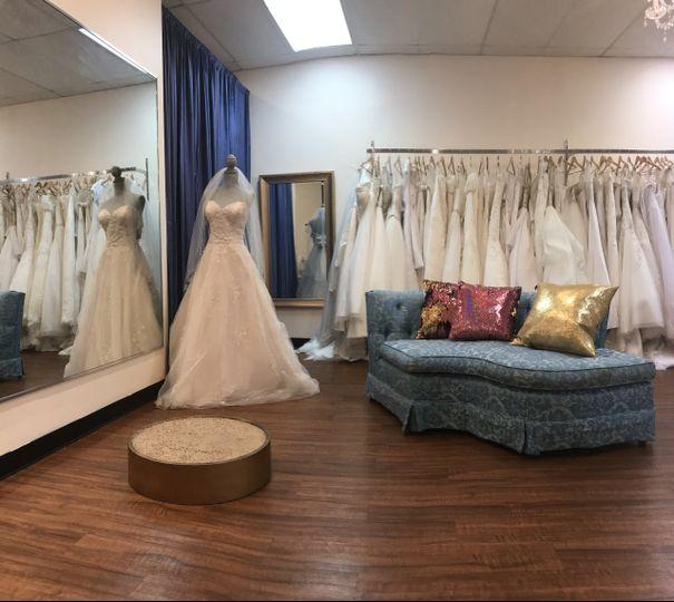 Wedding dress found @ floras!