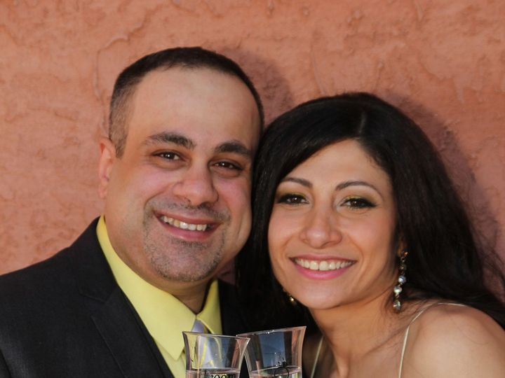Tmx 1419125443431 Couple With Glasses On Terrace Bronx wedding planner