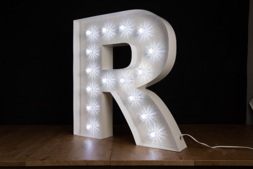 marquee letter 500x334