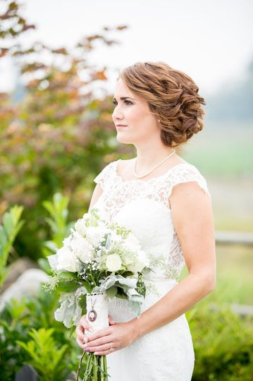 Bride - carlton farms wedding
