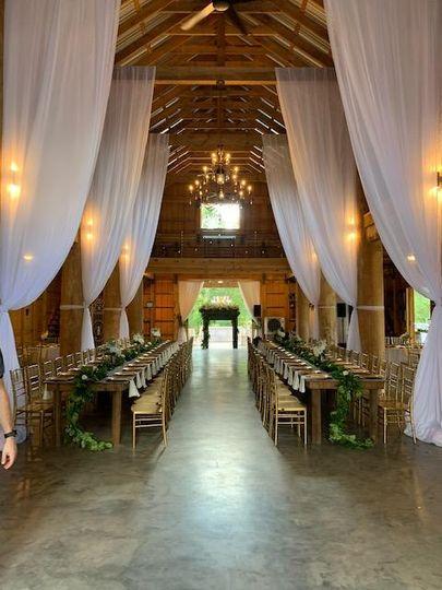 The barn intrance