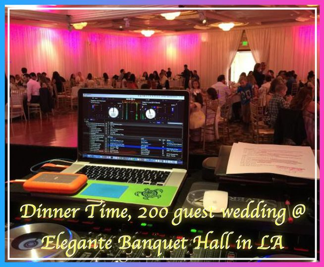 Dinner Time, 200 guest wed