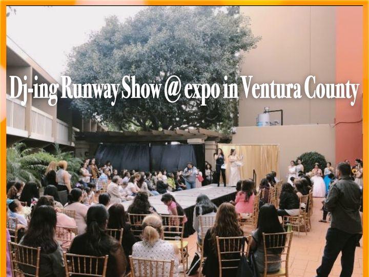 Tmx Back Stage Dj Ing Runway Show 2 51 1031683 157975221078840 Ventura, CA wedding dj
