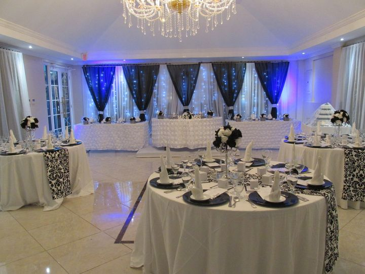 Wedding reception setup - Exquisite Events Planning and Production