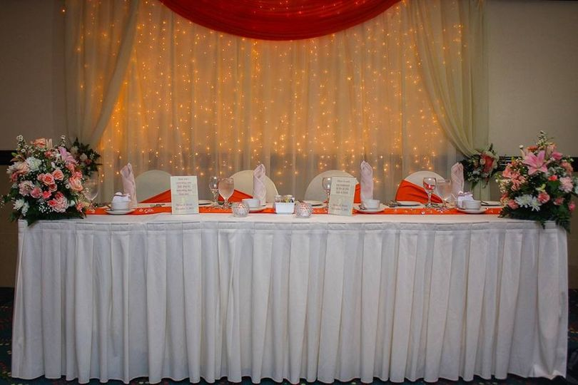 Head table - Exquisite Events Planning and Production