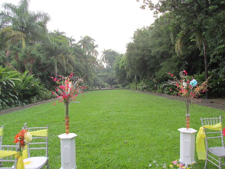 Lush lawn ceremony - Exquisite Events Planning and Production
