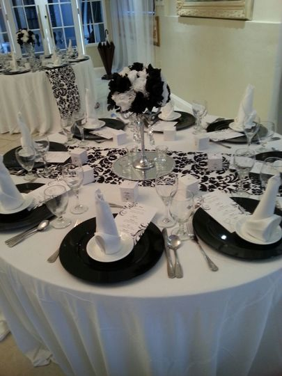 Table settings - Exquisite Events Planning and Production