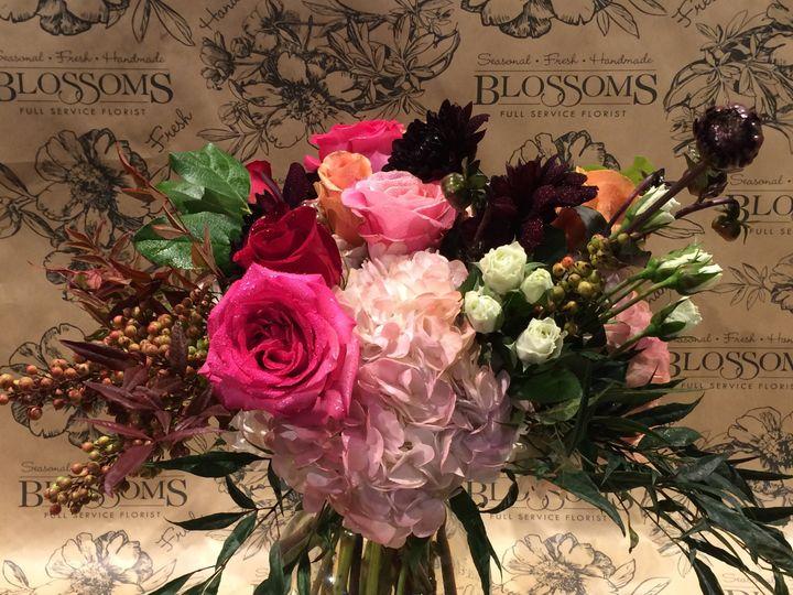 Tmx 1483628658494 10.24.15 Bridal Bouq Pink And Burg Birmingham, MI wedding florist