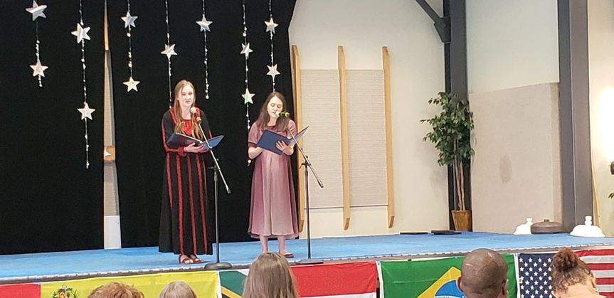 Singing at an International Festival