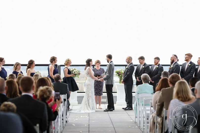 Ceremony on the Rooftop