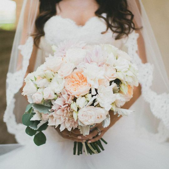 blush bouquet by third bloom