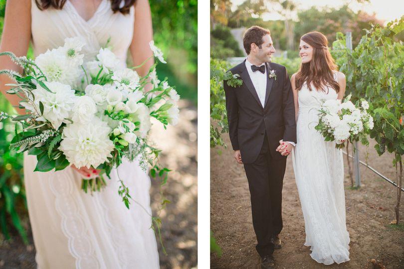 white garden bouquet by third bloom copy