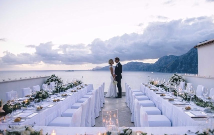 Reception with a view