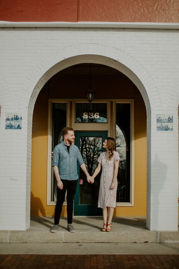 Pella, Iowa engagement