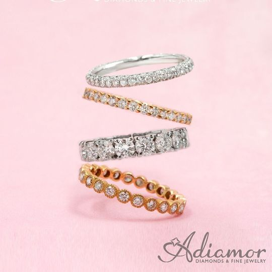 Gorgeous Eternity Rings