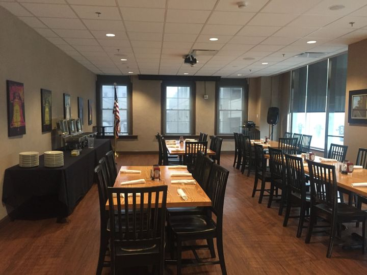 Buffet and table service options available subject to your groups size and needs.