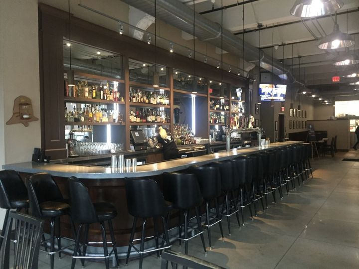 Front bar is a great place to meet up with friends from out of town after dinner in our private...