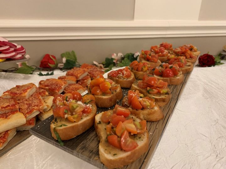 Fresh hors d'oeuvres