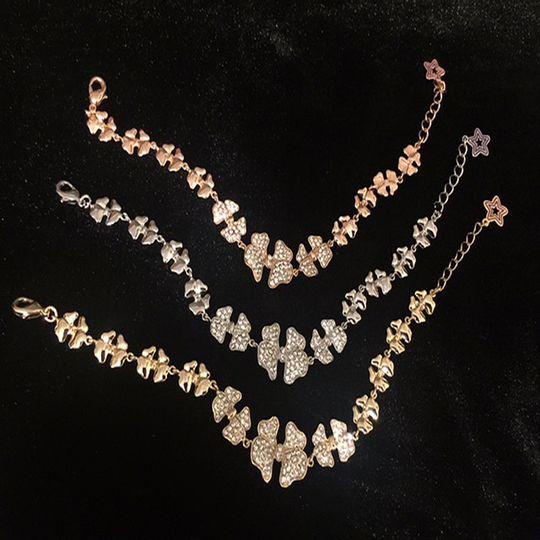 Gold, rosegold, silver bracelets