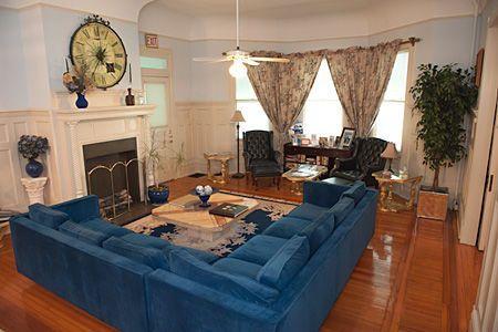 Cedars & Beeches Bed & Breakfast Fireplace