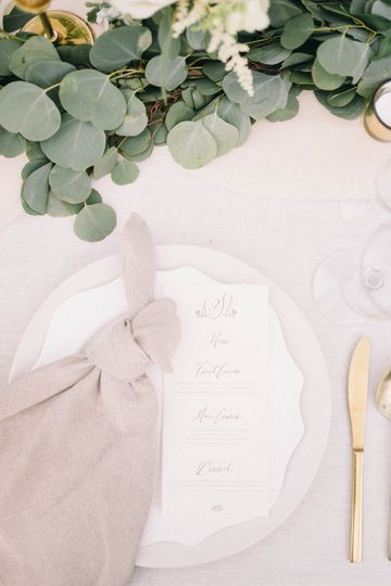 Understated Place Setting