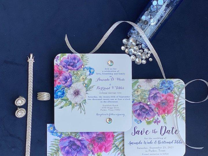 Tmx Aw 51 1980783 160070961986381 Dallas, TX wedding invitation