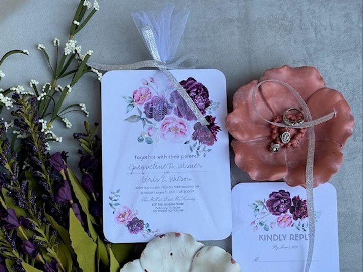 Tmx Jw 51 1980783 160070960185086 Dallas, TX wedding invitation