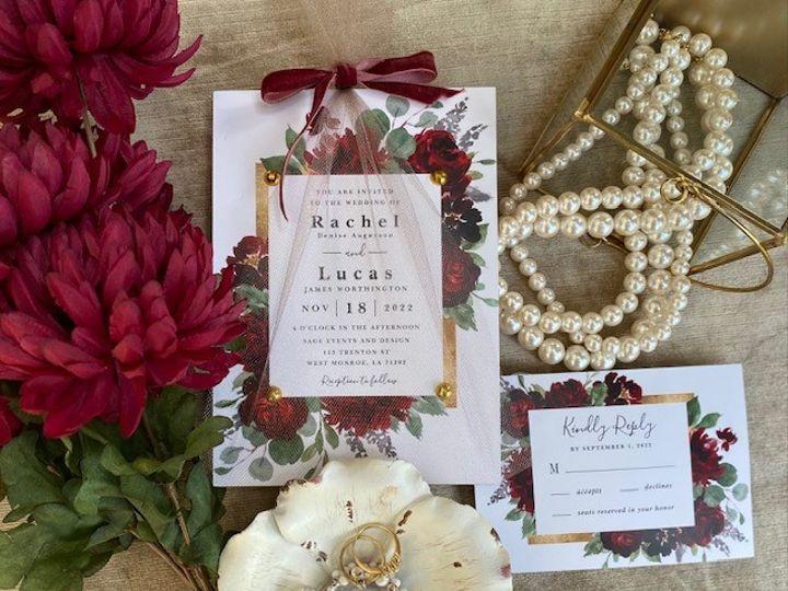 Tmx Ra 51 1980783 160070992444664 Dallas, TX wedding invitation