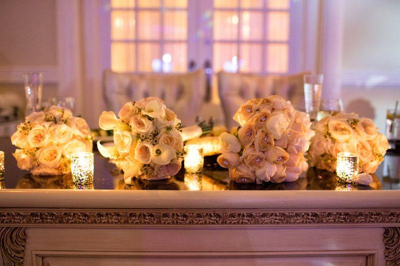 bridal party sh tabl