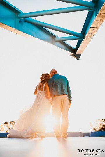 Sun terrace couple