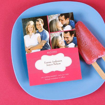 Invite and popsicle