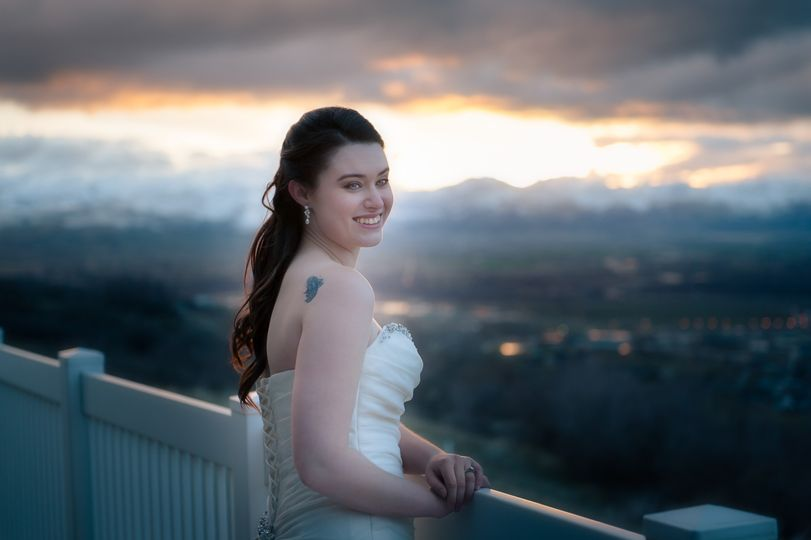 Mountain Bridals at Sunset